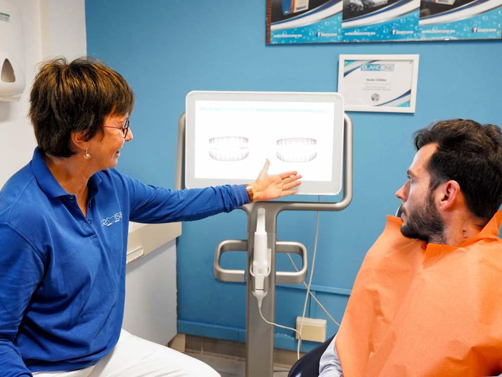 apparecchio-invisibile-Studio Cemisa-Centro Medico-Torino