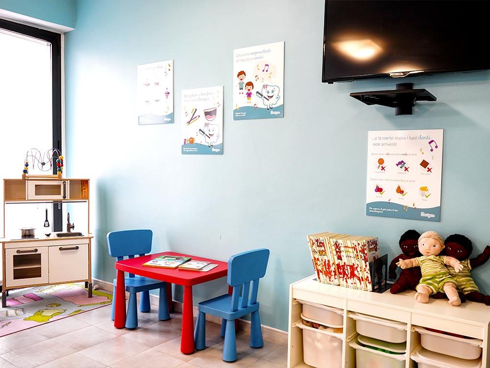 il dentista per bambini e famiglia a Torino